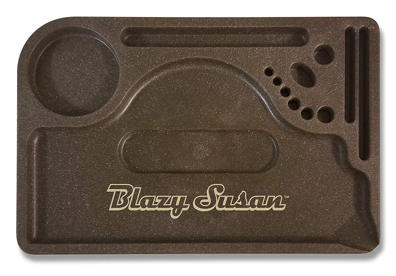 Blazy Susan Hemp Rolling Tray