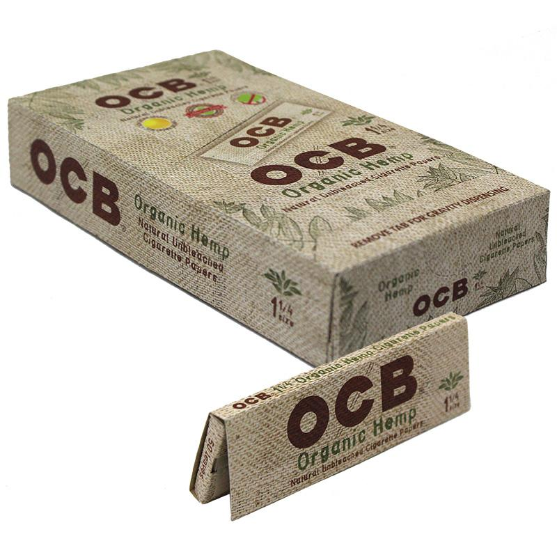 "OCB Organic Hemp 1 1/4"" Size Rolling Paper"