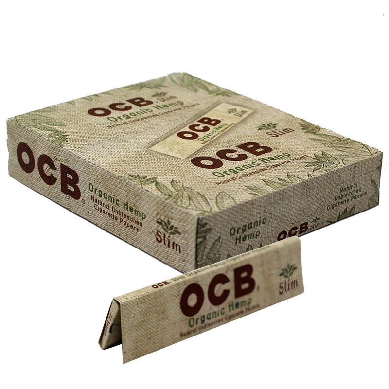 OCB Organic Hemp King Size Slim Rolling Paper