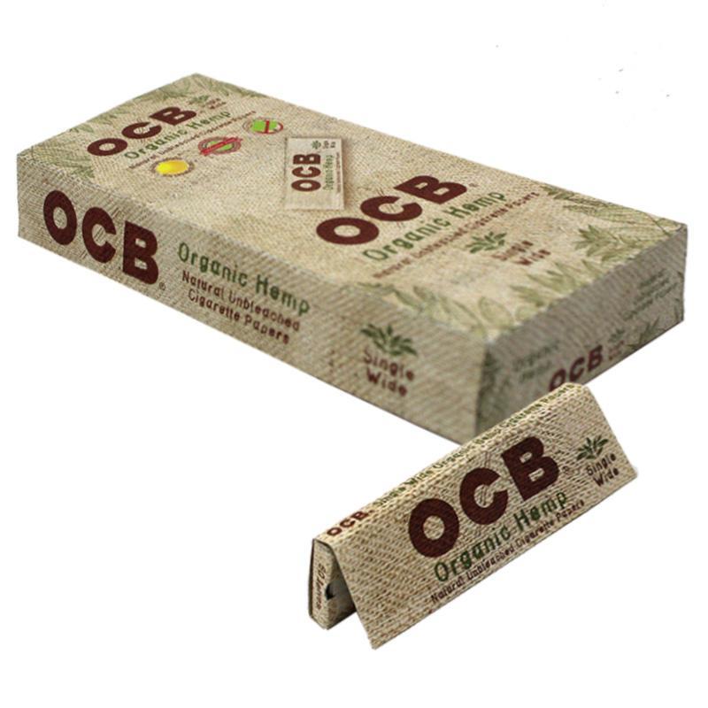 OCB Organic Hemp Single Wide Rolling Paper