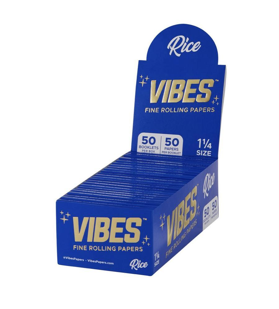 "Vibes Rice 1 1/4"" Size Rolling Paper"