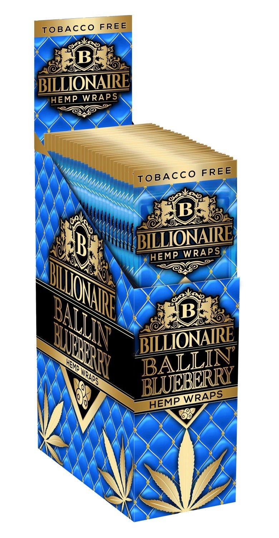 Billionaire Hemp Wraps - Ballin Blueberry
