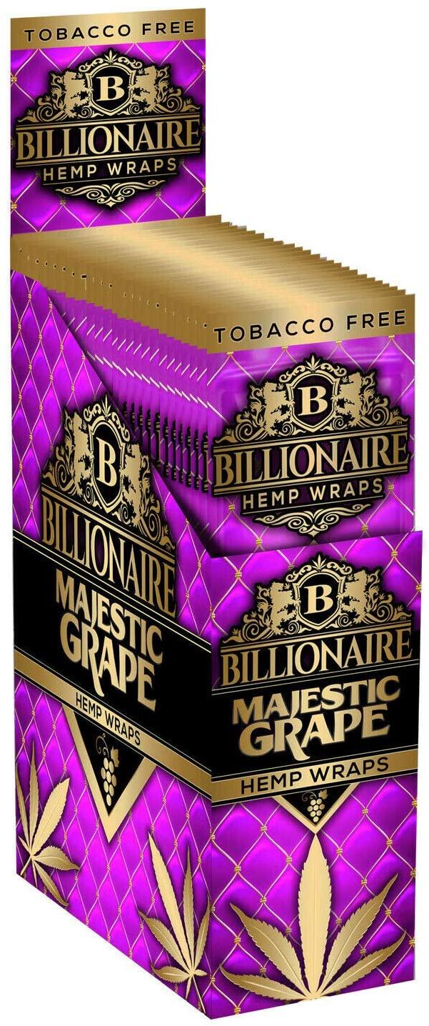 Billionaire Hemp Wraps - Majestic Grape