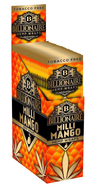 Billionaire Hemp Wraps - Milli Mango
