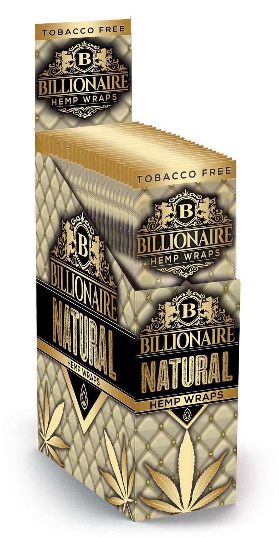 Billionaire Hemp Wraps - Natural