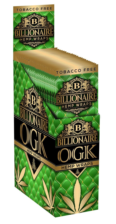 Billionaire Hemp Wraps - OGK