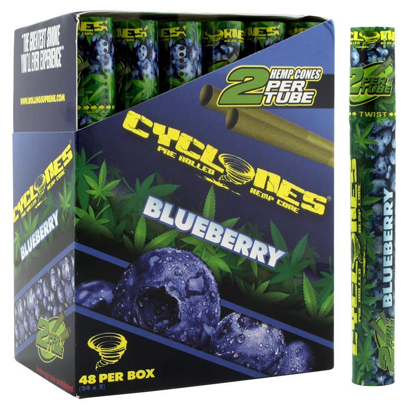 Cyclones Hemp Cone Blueberry Flavor