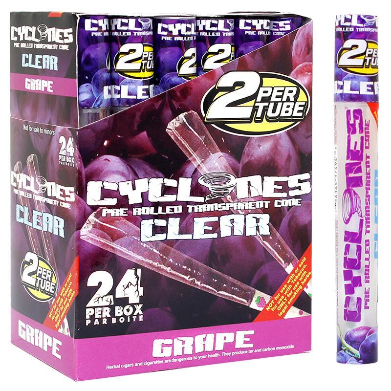 Cyclones Clear Cone Grape Flavor