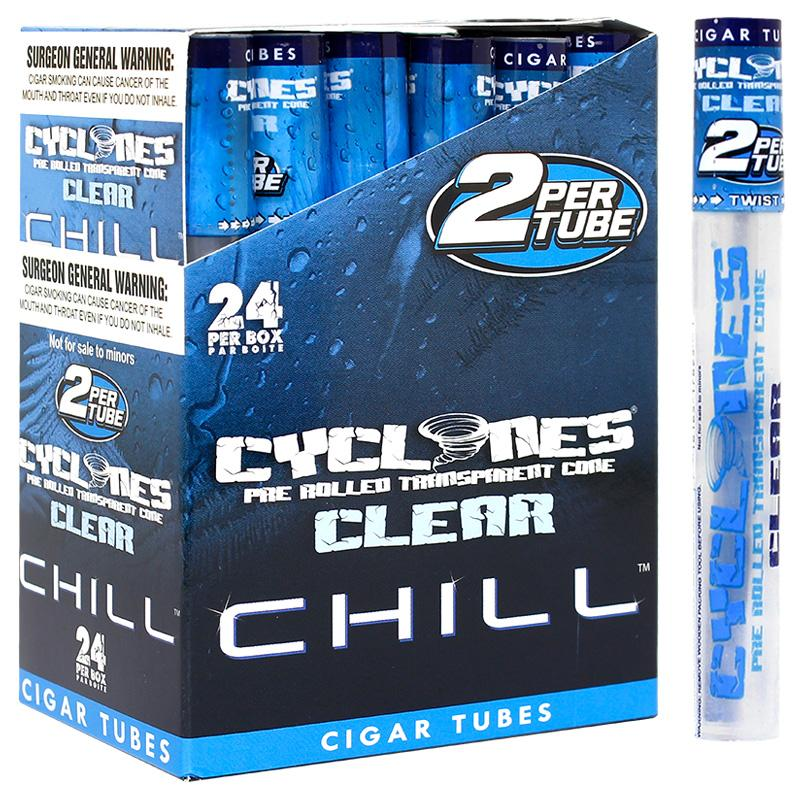 Cyclones Clear Cone Chill Flavor
