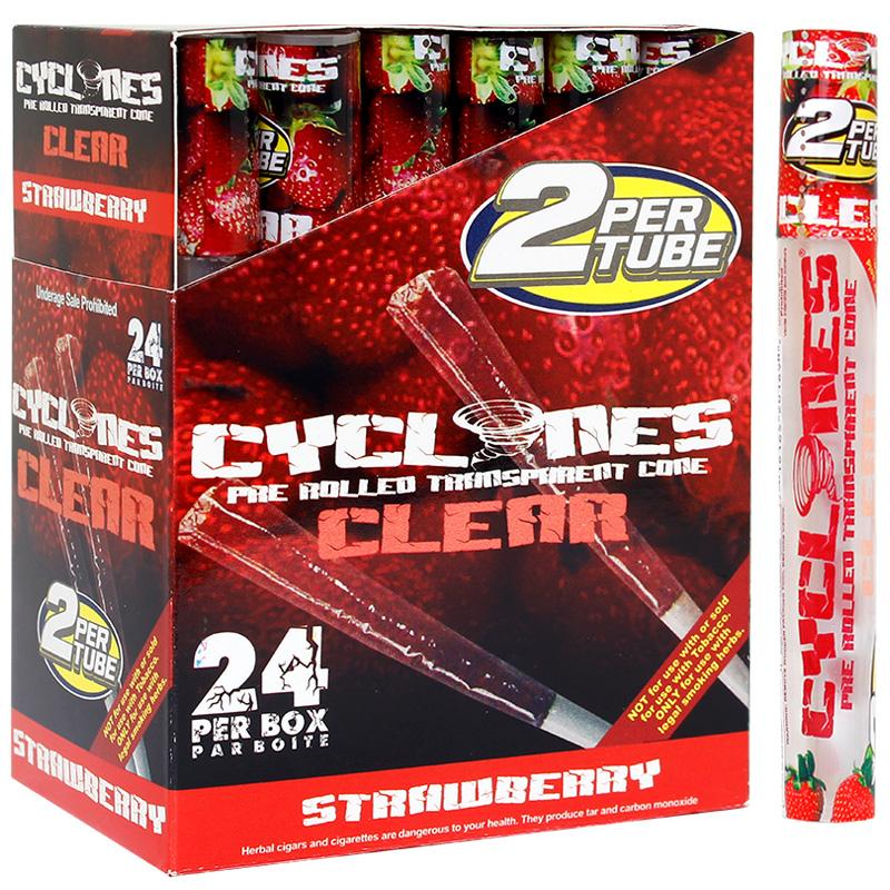 Cyclones Clear Cone Strawberry Flavor