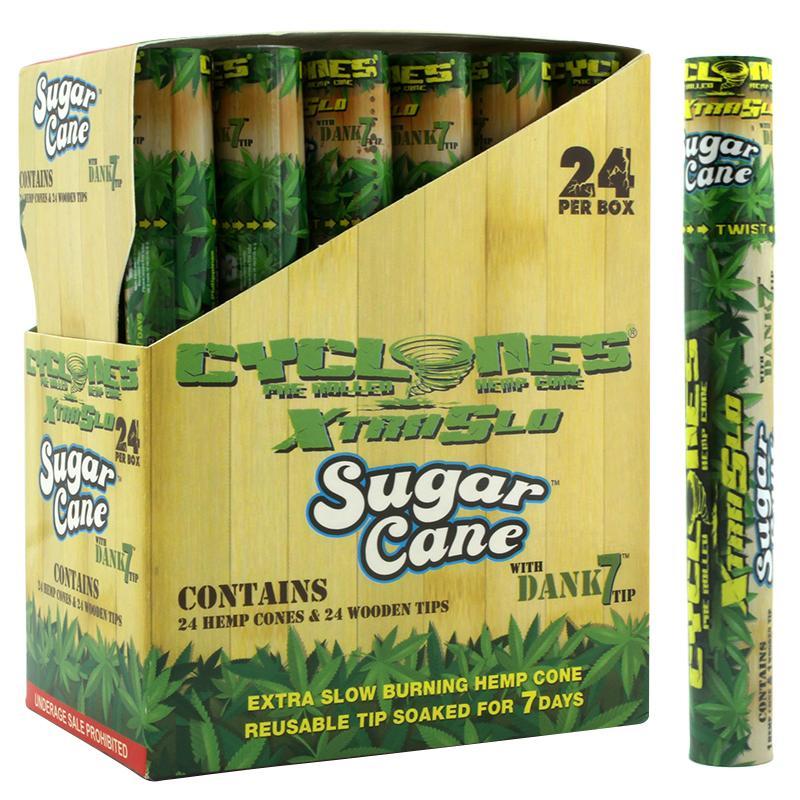 Cyclones Hemp Cone XtraSlo Sugar Cane Flavor