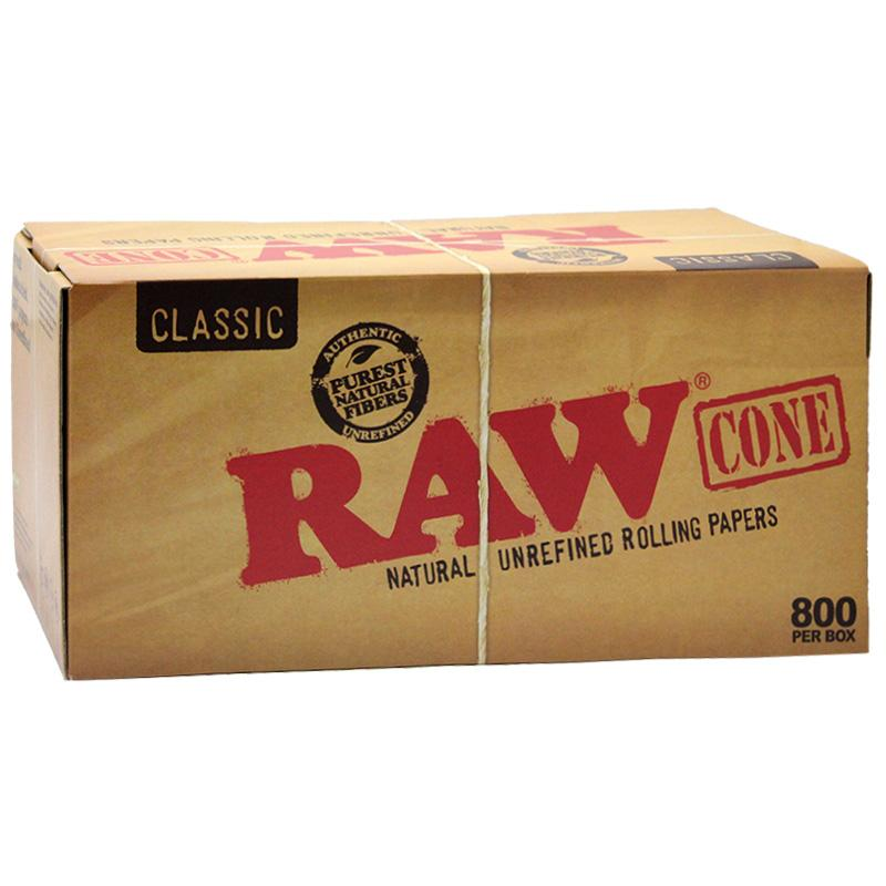 Raw Classic Pre-Rolled Cone - 800ct./Display