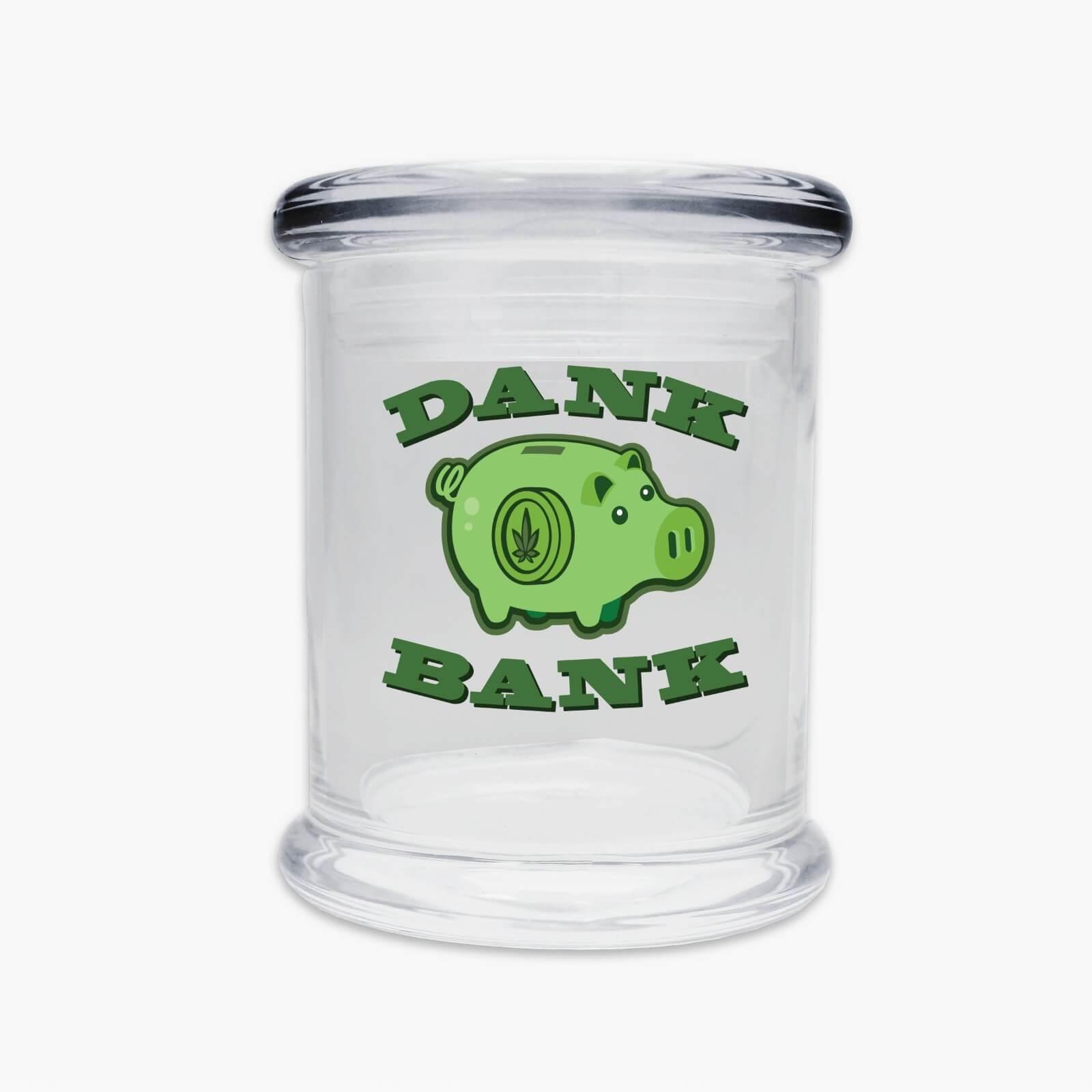 Juggz Dank Bank Glass Jar