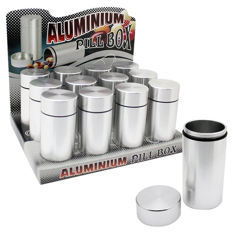 Aluminium Pill Box