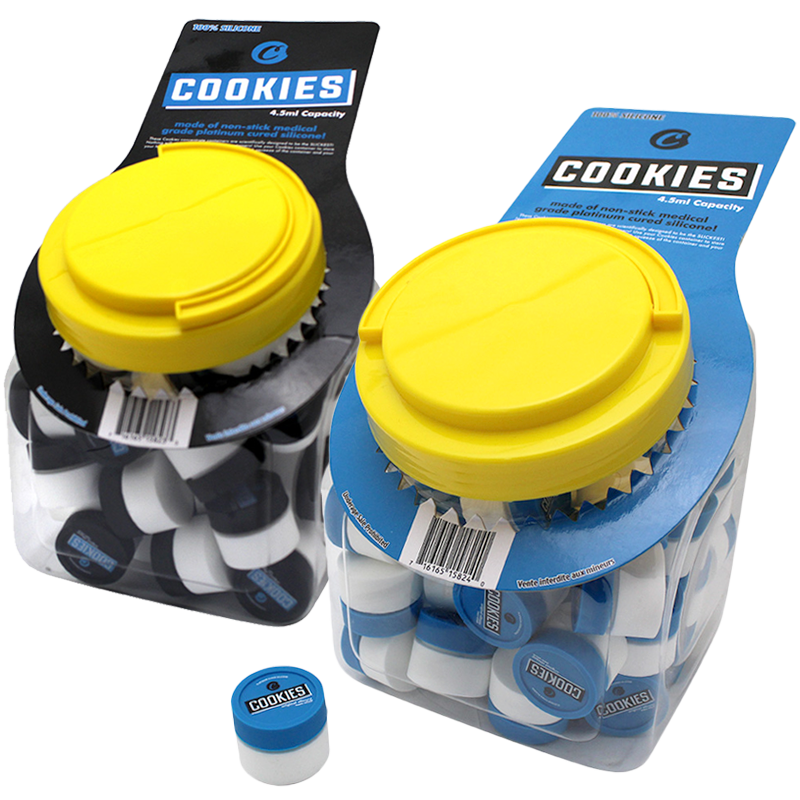 Cookies Mini Silicone Concentrate Jar