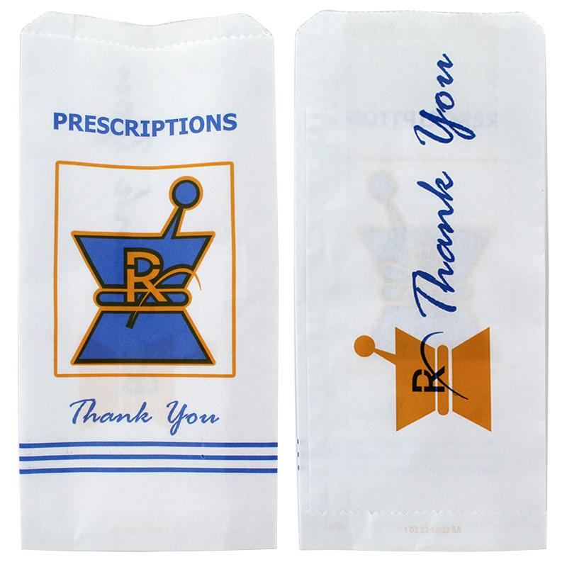 RX Pharmacy Paper Bags Medium