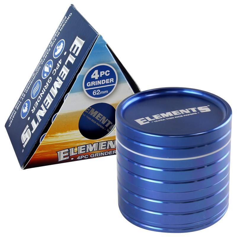 Elements 4pc 62mm Sifter Grinder