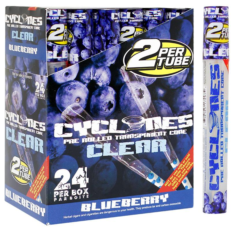 Cyclones Clear Cone Blueberry Flavor