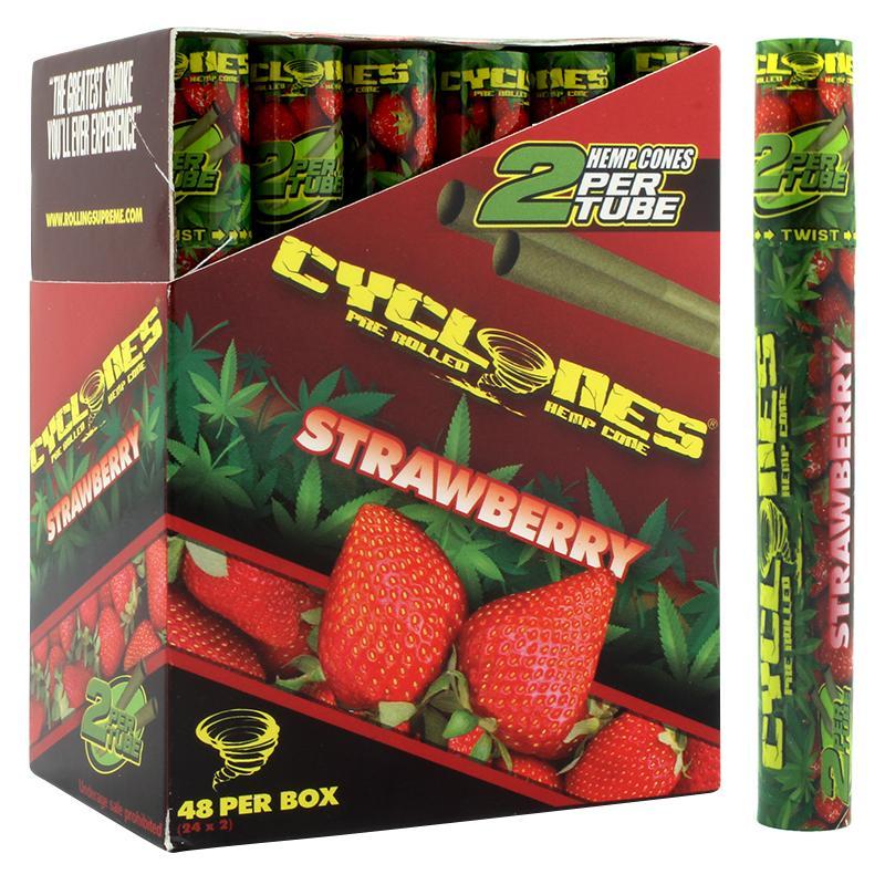 Cyclones Hemp Cone Strawberry Flavor