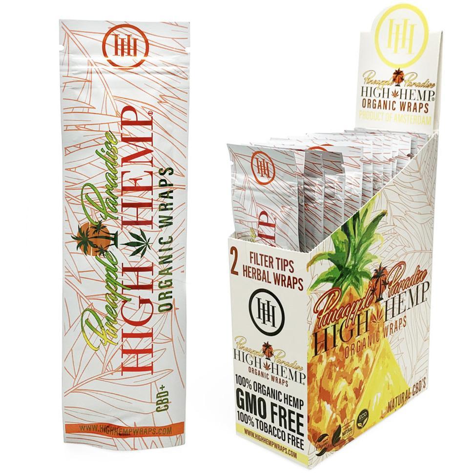 High Hemp Pineapple Paradise Organic Wraps