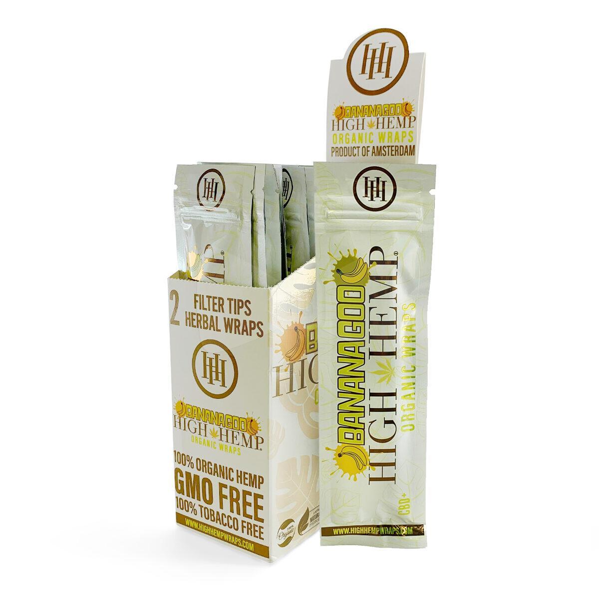 High Hemp Banana Goo Organic Wraps