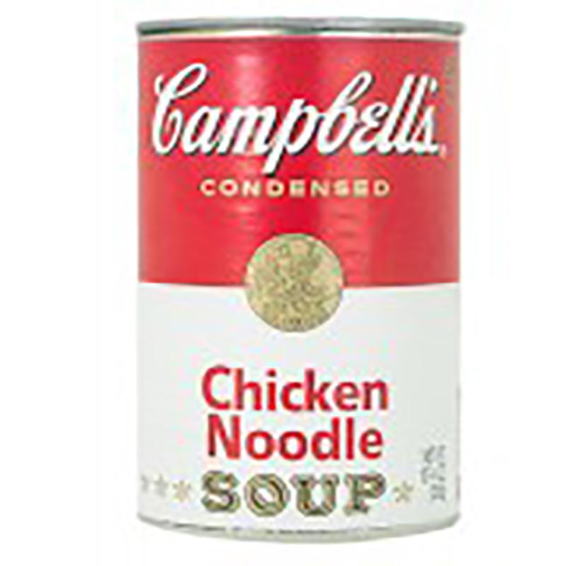 Campbell's Chicken Noodle Soup Safe Can