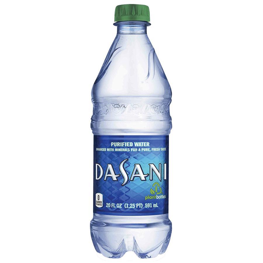 Dasani 20oz Full Water Bottle Safe Can