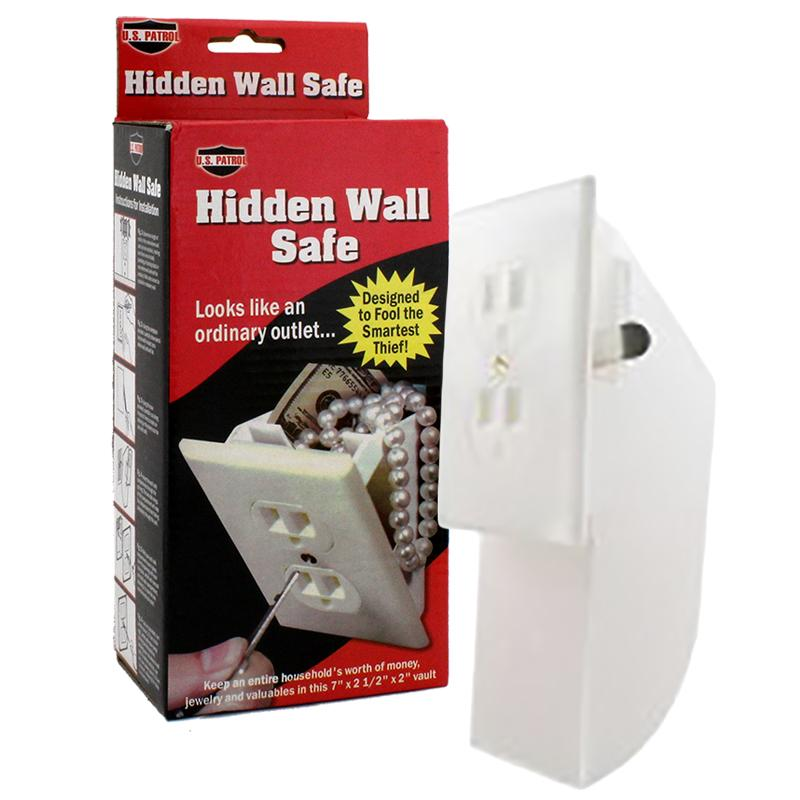 Hidden Wall Safe Can