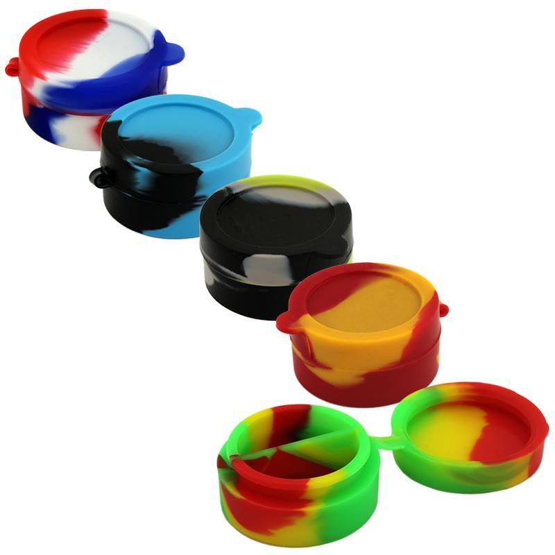 7ml Dual Chamber Silicone Jar