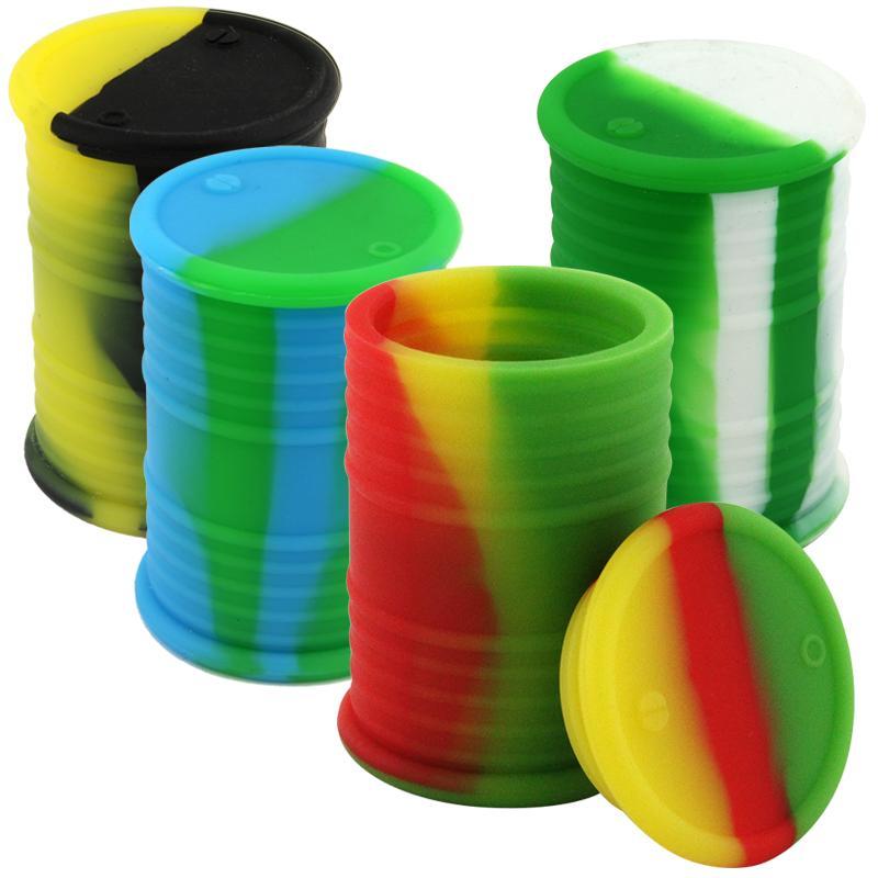 11ml Mini Oil Barrel Silicone Jar