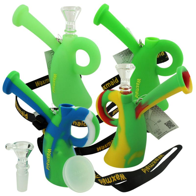 """5"""" Waxmaid Miss Silicone Oil Rig"""