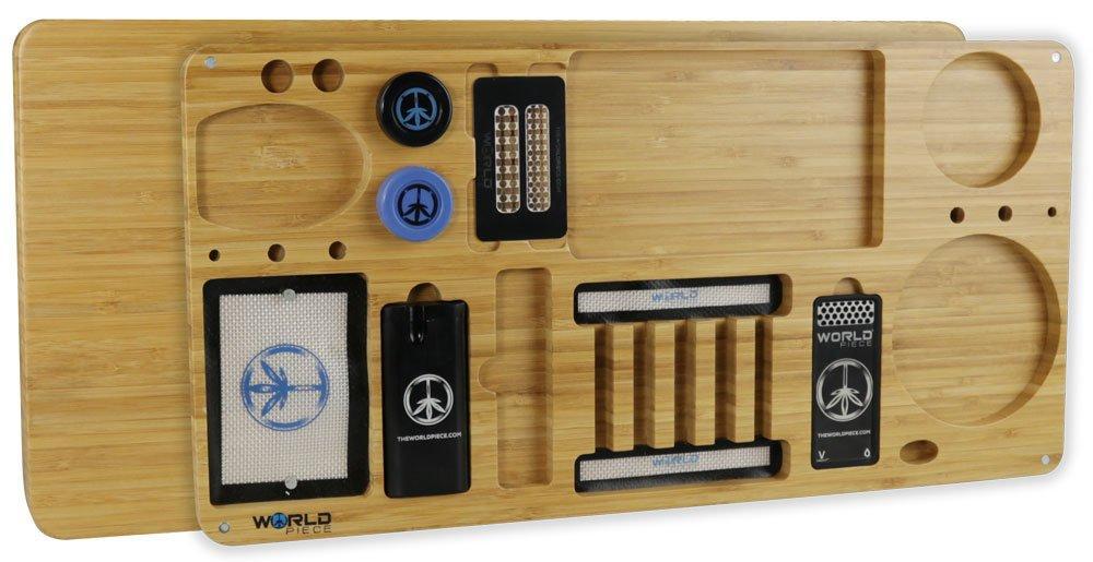 World Piece Bamboo Rolling Tray - Masterpiece