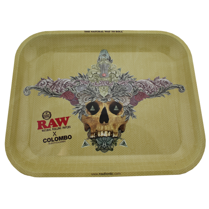 Raw x Colombo Large Rolling Tray