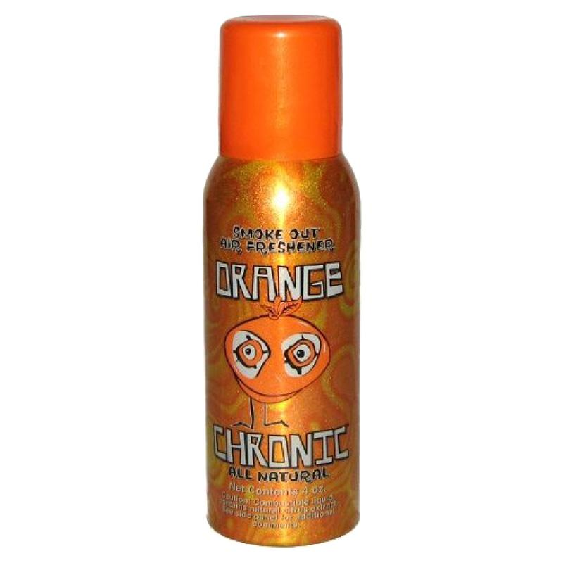 Orange Chronic 4oz Air Freshener