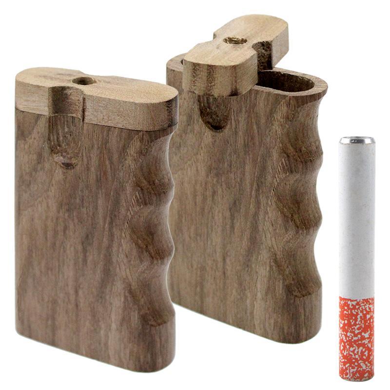 """3"""" Natural Handgrip Wooden Dugout"""