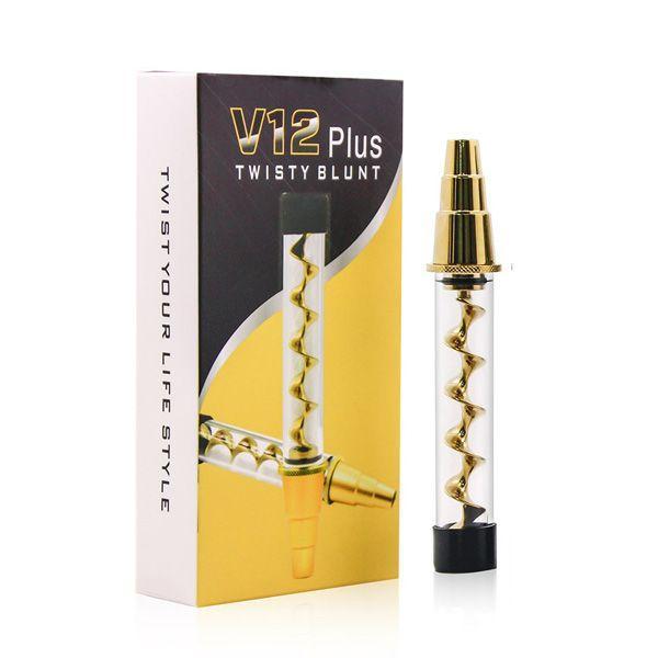 V12 Plus Twisty Glass Blunt