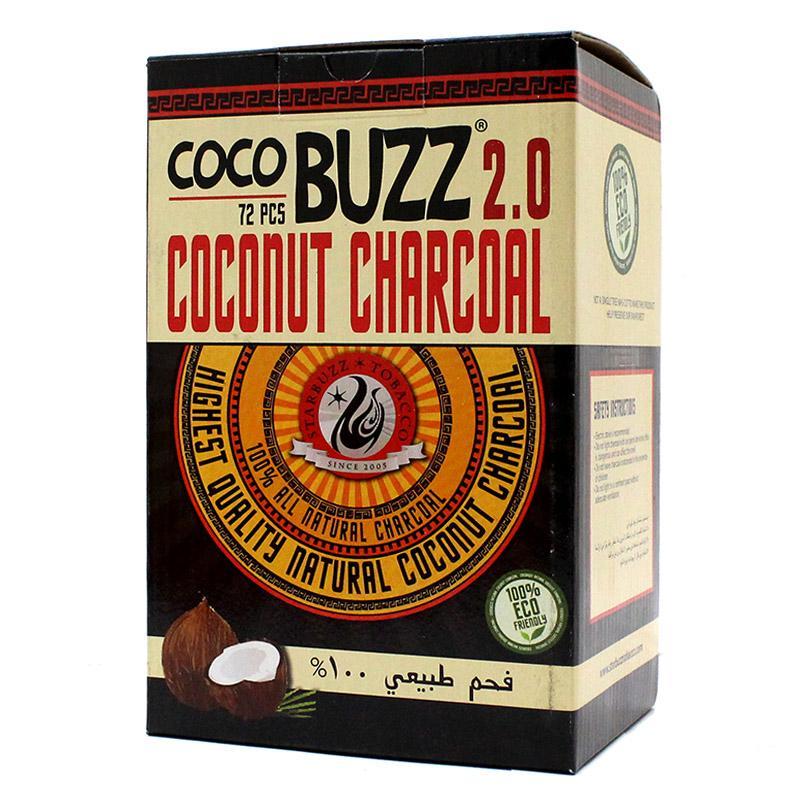 Starbuzz CocoBuzz 2.0 Hookah Charcoal 72 Pcs