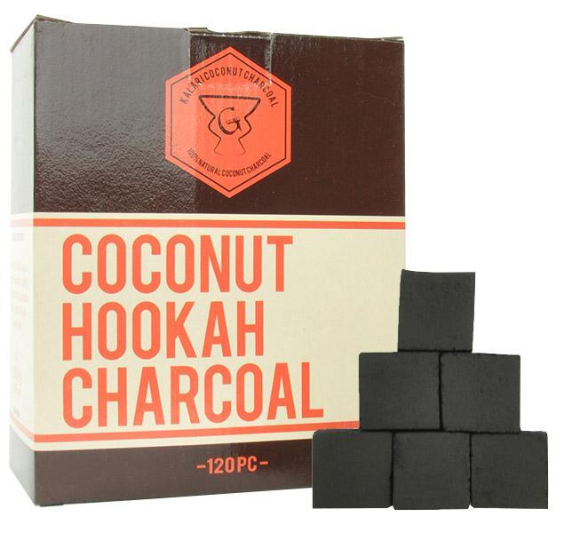Guru Coconut Hookah Charcoal 120 L Pcs