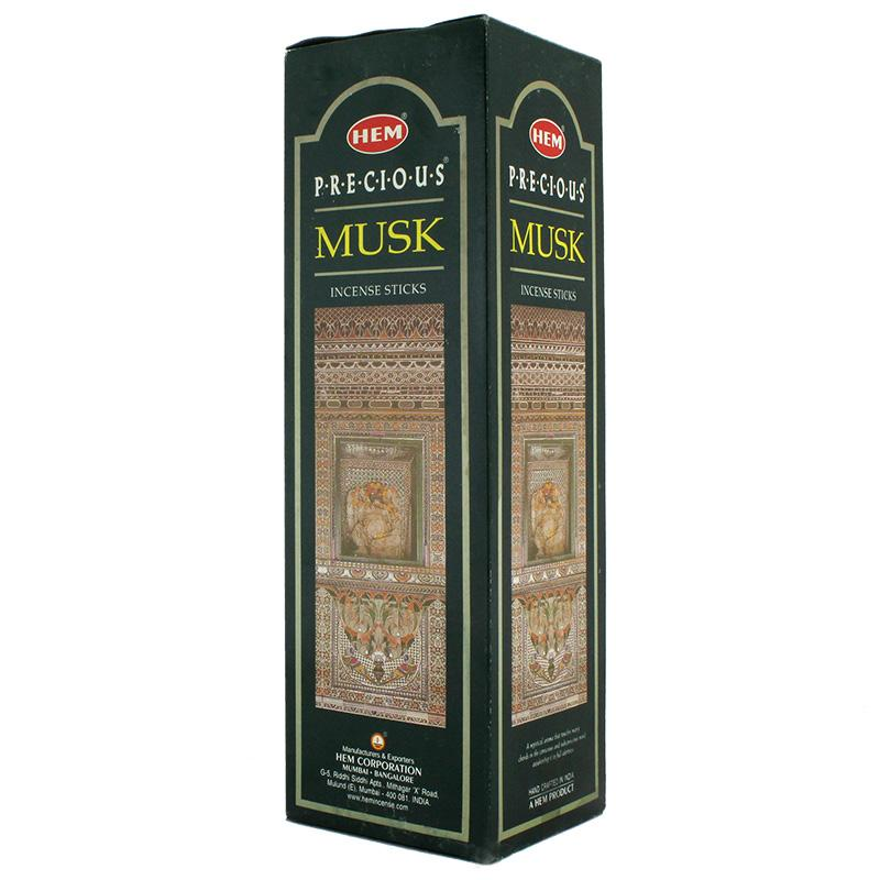 Hem Precious Musk Incense Sticks 120 Box