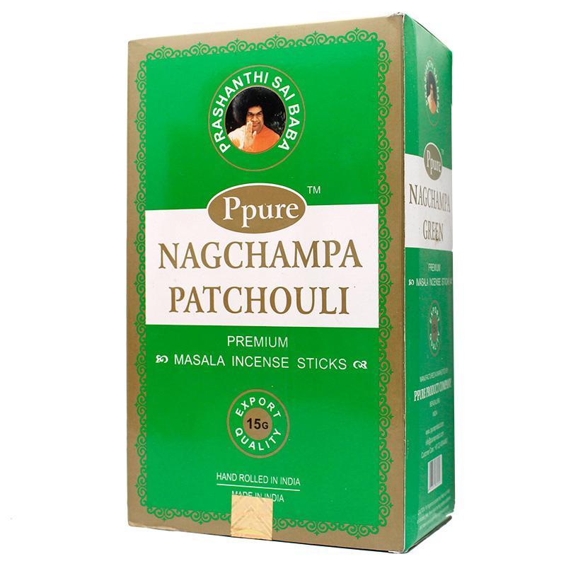 Ppure NagChampa Patchouli 15g Incense