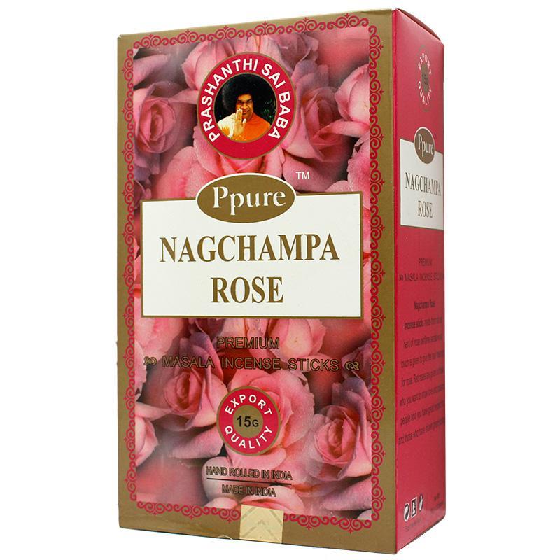 Ppure NagChampa Rose 15g Incense