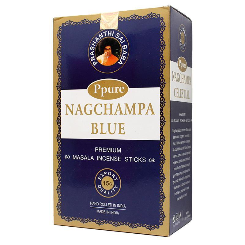 Ppure NagChampa Blue 15g Incense
