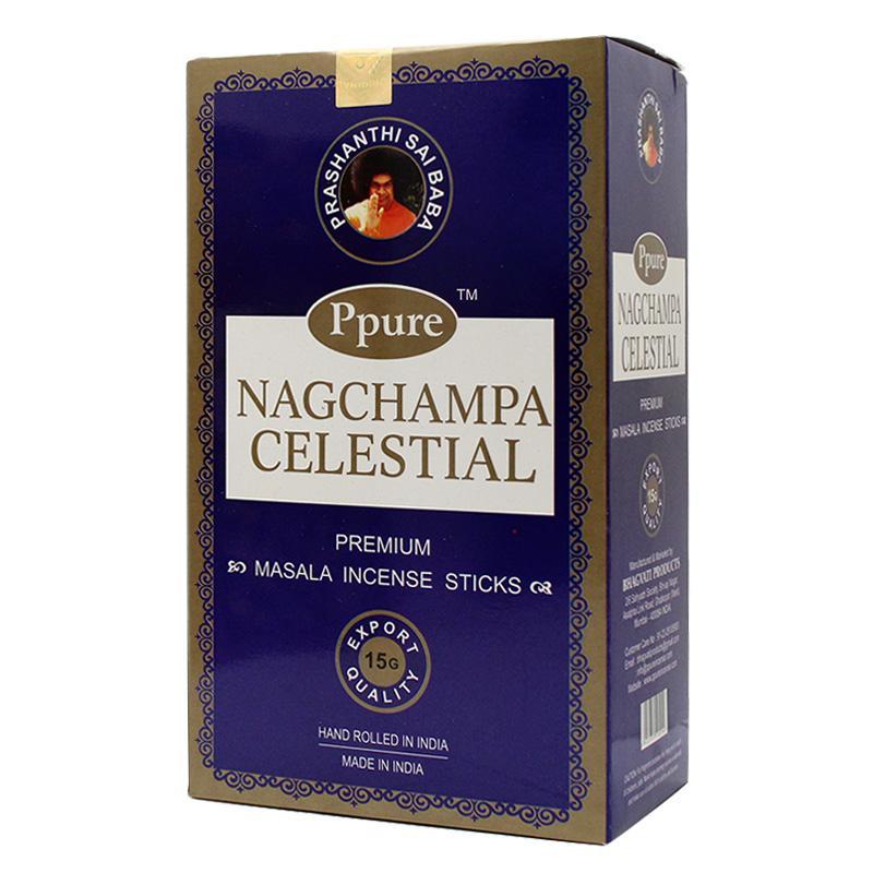 Ppure NagChampa Celestial 15g Incense