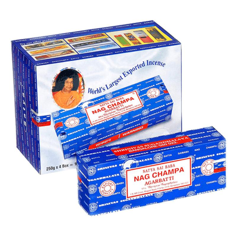 Satya Nag Champa Regular 100g Incense Sticks