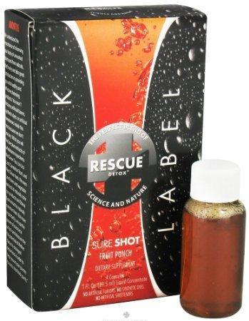 Rescue Black Label Sure Shot Detox