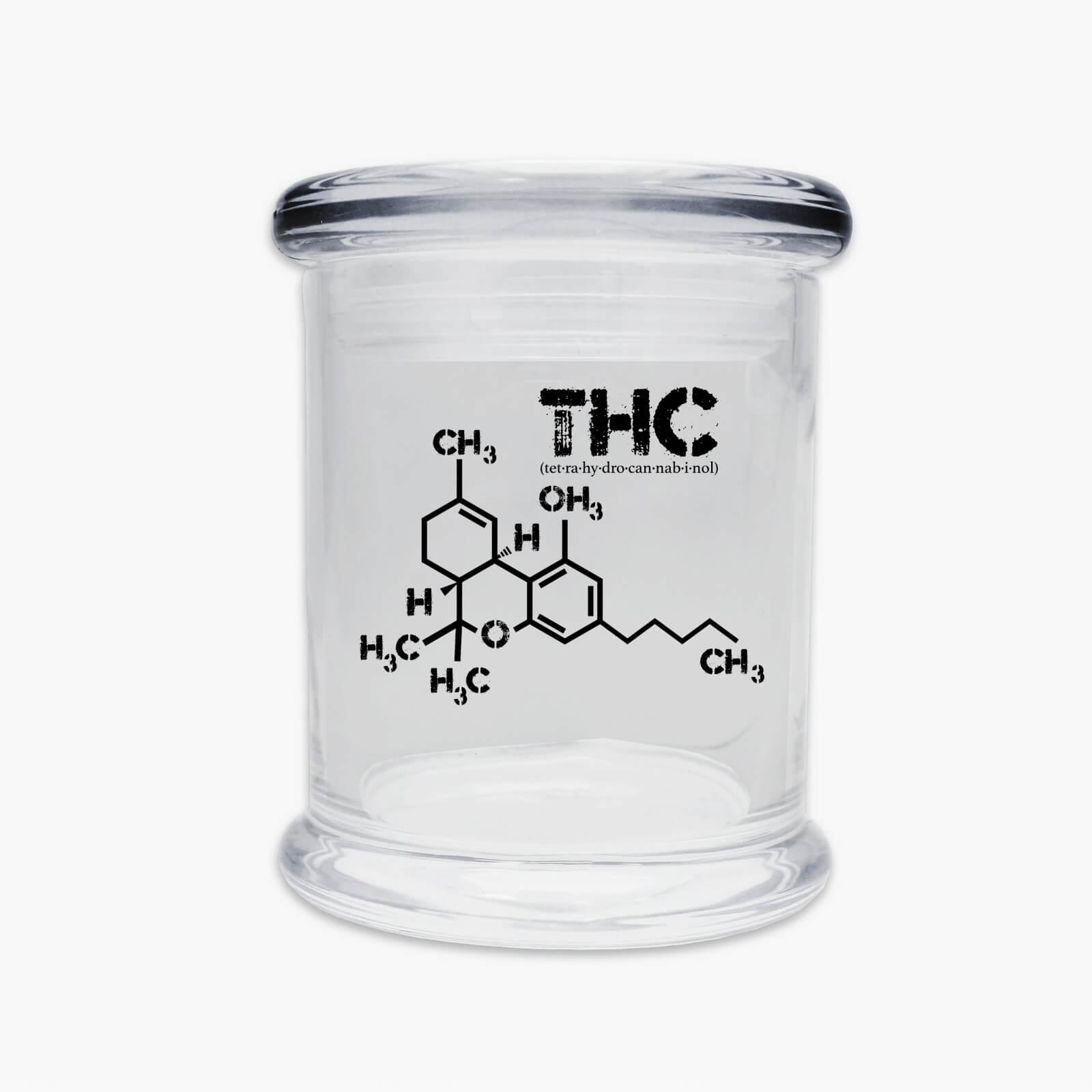 Juggz THC Molecule Glass Jar