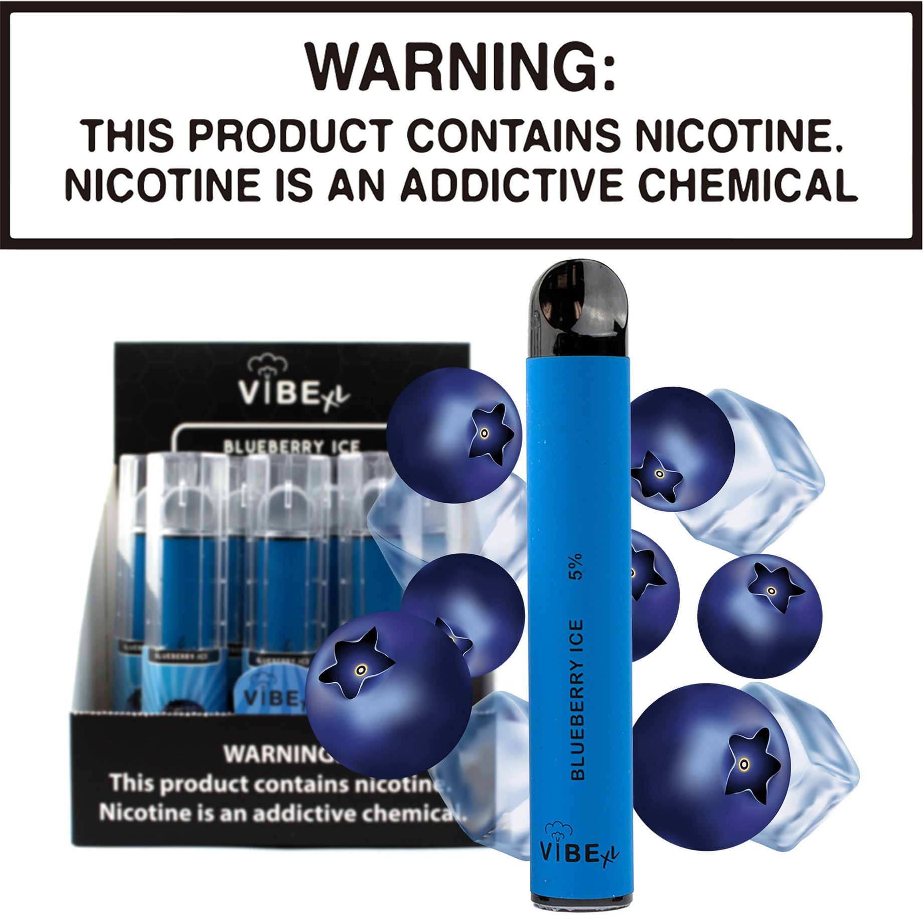 Vibe XL - Blueberry Ice (Disposable Device)