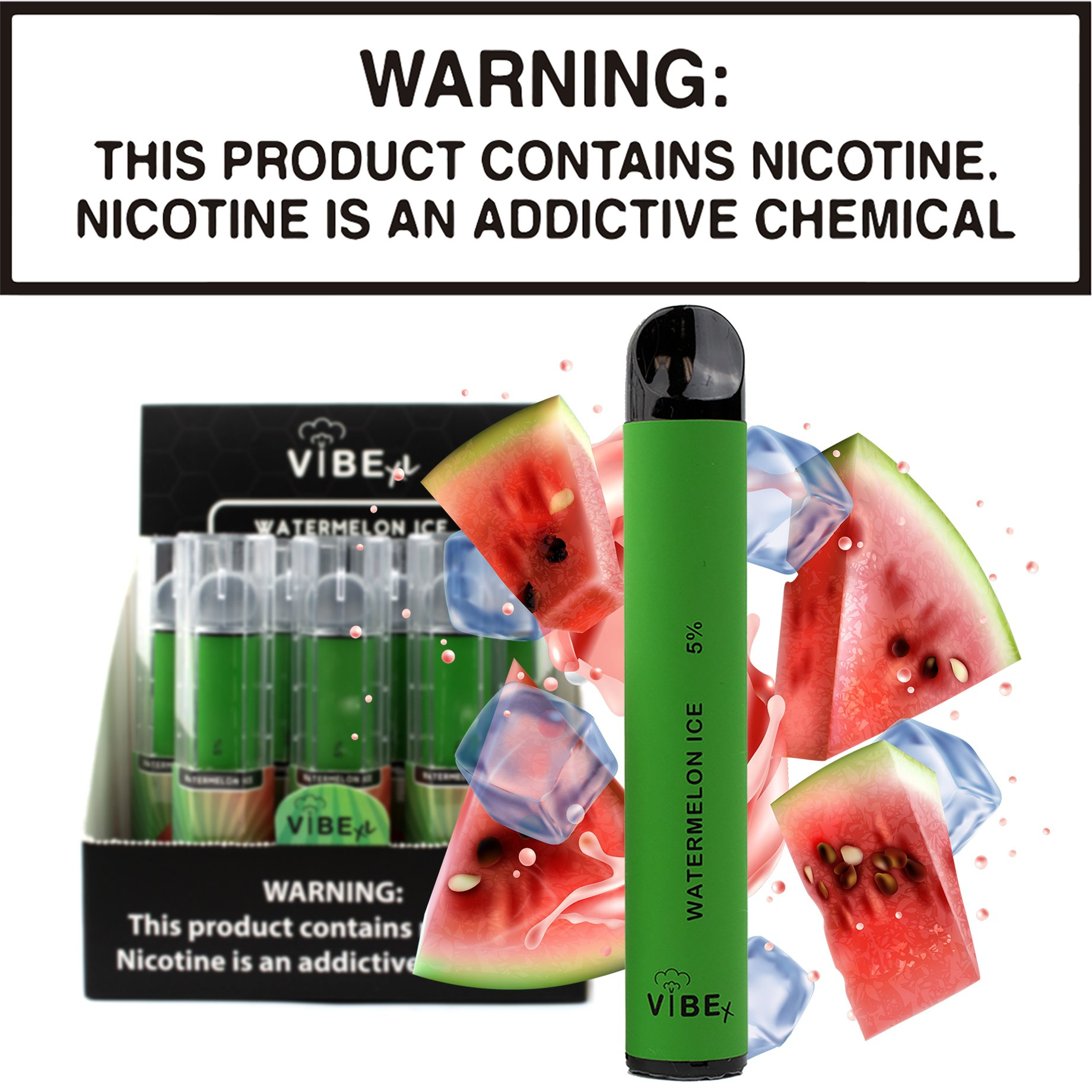 Vibe XL - Watermelon Ice (Disposable Device)