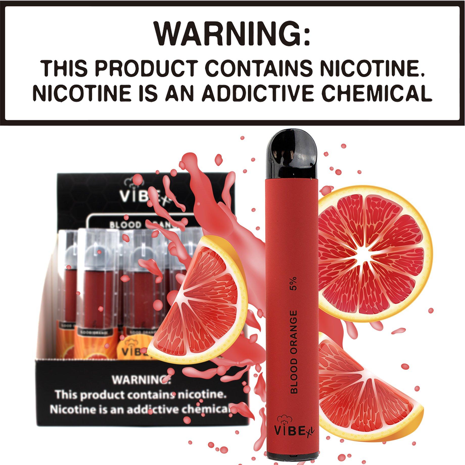 Vibe XL - Blood Orange (Disposable Device)