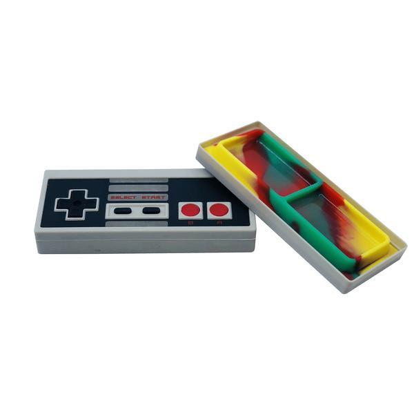 Classic Nintendo Controller Silicone Container Jar